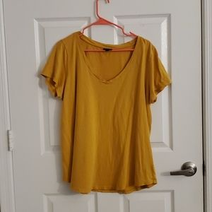 Classic fit v neck t